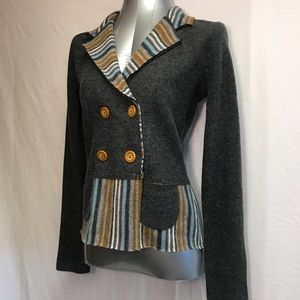 Sparrow anthropologie Knit Jacket - Size Small